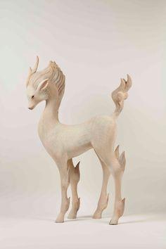 Yoshimasa Tsuchiya // wooden sculptures