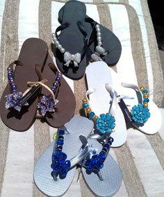 lovely designed flip flops