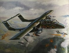 Air Vietnam, Vietnam War, Military Photos, Military Art, Ov 10, War Thunder, Airplane Art, Aviation Art, War Machine