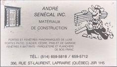Portes et Fenêtres: Portes Fenêtres André Senécal, Ville de La Prairie...