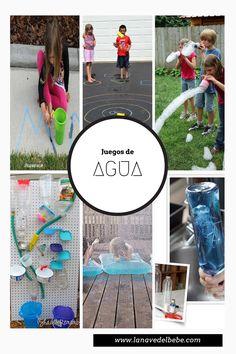 ideas con agua y nios juegos en exterior con agua un de ideas
