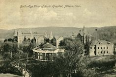 Athens State Hospital, now The Ridges. around 1900