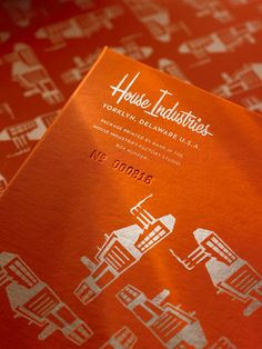 House Industries Limited Edition Tees