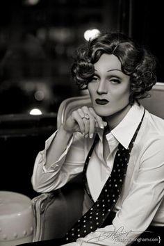 Tammie Brown (Keith Glenshuber) as Marlene Dietrich [RuPaul's Drag Race, Season… Marlene Dietrich, Drag Queens, Tammie Brown, Drag King, Queen Photos, Rupaul Drag, Androgyny, Amazing Women, My Girl