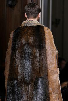 "everythingasoiaf: "" Fur cloak for House Mormont "" Valentino, Fall 2014 "" "" Men Fashion Photo, Fashion Show, Mens Fashion, Vogue Paris, House Mormont, Mens Fur, Shearling Coat, Designer Clothes For Men, Fall Winter 2014"