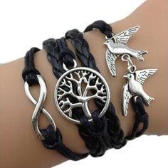#MERKANTFY The most sold this week: Handmade Adjustab... . Buy Now!!! http://merkantfy.com/products/handmade-adjustable-8-tree-pigeon-multilayer-bracelet-wristband-charm?utm_campaign=social_autopilot&utm_source=pin&utm_medium=pin
