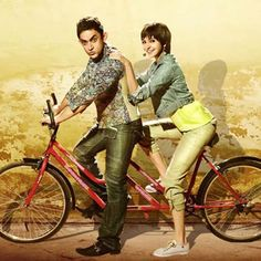 PK is a comedy and drama film whose direction was made by Rajkumar Hirani. The title Role was played by Amir Khan a Bollywood Super Star with the Gorgeous Anushka Sharma and Sanjay Dutt. PK was releas. Bollywood Actors, Bollywood News, Bollywood Celebrities, Hindi Movie Reviews, Motion Poster, Movies Box, Movies 2014, Blockbuster Movies, Aamir Khan