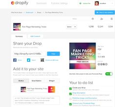 Dropify: Embed any file on Facebook for friends and fans to download directly - The Next Web