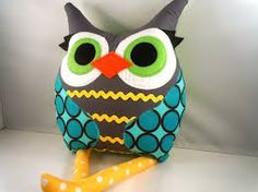 colorful owls items