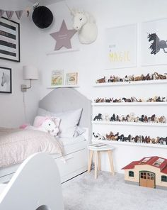 Home decoration is one of the most important elements that help you to define the… Baby Boy Room Decor, Baby Boy Rooms, Horse Themed Bedrooms, Fantasy Bedroom, Toddler Rooms, Childrens Room, Maila, Little Girl Rooms, Girls Bedroom