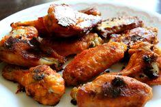 Crispy, Baked Buffalo Chicken Wings