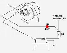 Wiring Diagram For 3 Wire Gm Alternator The Wiring Diagram on ford alternator wiring diagram internal regulator
