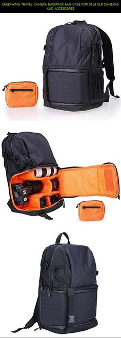 Cheerwing Travel Camera Backpack Bag Case for DSLR SLR Cameras and Accessories #parts #shopping #tech #backpack #racing #fpv #plans #cheerwing #products #kit #drone #camera #technology #gadgets