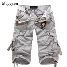 Army green Men Casual Cargo Camo Cotton Overall Shorts Sports Pants Swimwear Baggy Shorts, Work Shorts, Cotton Shorts, Casual Shorts, Overalls, Men Shorts, Men Pants, Men Trousers, Plaid Shorts
