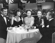 Clark Gable, Ava Gardner, Deborah Kerr, Gloria Holden, Adolphe Menjou by Susanlenox, via Flickr