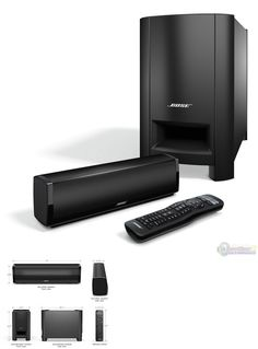 Home Theater Systems: Bose Cinemate 15 Home Theater Speaker System - Brand New, Free Shipping BUY IT NOW ONLY: $329.0