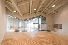 Towada Kindergarten in Towada, Japan - by Kengo Kuma