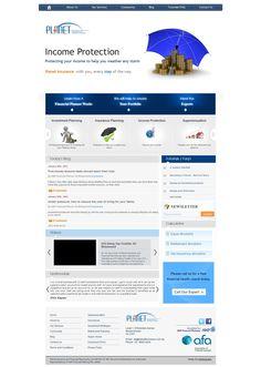 Webfin Studios Design Work -  For Insurance Industry