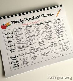 Printable Classroom Planner for It's my new printable Preschool Planner!Make planning school easy with this printable planner. This planner is also editable. Preschool Planner, Homeschool Preschool Curriculum, Preschool Prep, Preschool Lesson Plans, Preschool At Home, Curriculum Planning, Preschool Classroom Schedule, Preschool Themes By Month, Toddler Lesson Plans