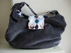 Untrendy Life: Slouchy Bag FREE Pattern