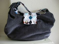 Untrendy Life: Slouchy Bag FREE Pattern