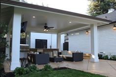Cabana's and Castia's - Traditional - Patio - other metro - by Fautt Homes