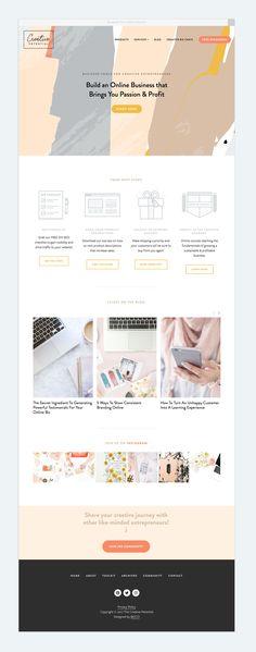 The Creative Potential Brand Identity & Website Design