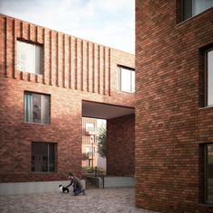 Leaf Street housing, Manchester by Mecanoo