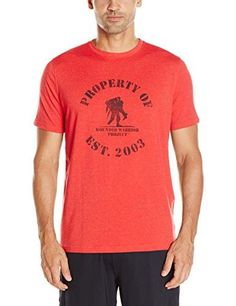 Under Armour Men s Freedom Property of WWP T-Shirt - Red White Large 491da2d53