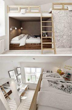 mommo design: BUNK BEDS #bunkbeds #beds
