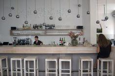 Im Stil New Yorker Bistros präsentiert sich das Restaurant Marks in der Neustiftgasse.