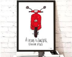 A Vespa is Forever (Italian Style)