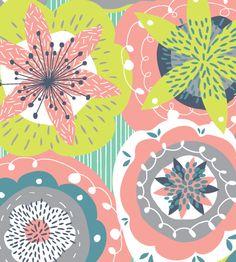 Jessica Hogarth floral print close up