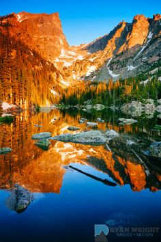 Dream Lake Rocky Mountain National Park, ....This is my Dad's fave place to go! (Mine too)