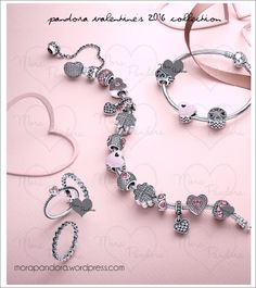 Think 'pink', think 'hearts', think 'pavé' – today we have a sneak peek at Pandora's upcoming Valentine's 2016 collection! Valentine's Day is a big holiday for the brand, and they usually go all ou...