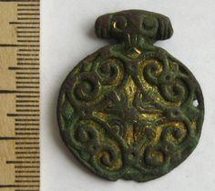 Women's pendant amulet. Vikings, X-XI cc. Vikings, Slavs, Kievan Rus.