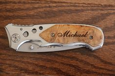 3 Personalized Engraved Knife Personalized by EverythingDecorated