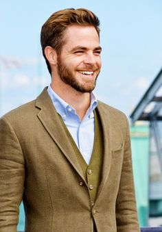 Chris Pine. I love the colours and the waistcoat...