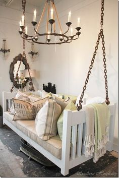 20+ Fabulous DIY Ideas to Repurpose Old Cribs | www.FabArtDIY.com