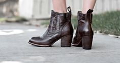 shop organic leather ankle boots and booties