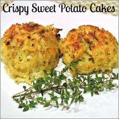 Mom, What's For Dinner?: Crispy Sweet Potato Cakes