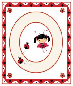Lady Bug, Alfabeto Animal, Alphabet For Kids, Alphabet Soup, Bedtime Prayer, A Bug's Life, Class Decoration, Miraculous Ladybug, Scrapbook Pages