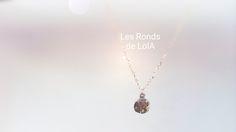 Dollar des Sables - Necklace - Collier Nouveau - Bijoux fins | Les Ronds de LolA | Créateur