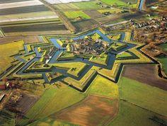 Fort Bourtange, The Netherlands.