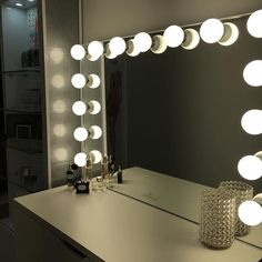 @sabihajaved proves simplicity truly is the ultimate sophistication with her elegant Glow XL Pro vanity station.  #inlove  Featured: #ImpressionsVanityGlowXLPro with Frosted LED Bulbs  #repost @sabihajaved  In love with my impressions vanity @impressionsvanity