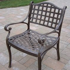 Oakland Living Elite Cast Aluminum Dining Arm Patio Chair by Oakland Living Corp, http://www.amazon.com/dp/B0034TB5KS/ref=cm_sw_r_pi_dp_Z.gIrb00NSYNC