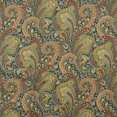 Richloom Sowell Fabric | Sowell Navy Fabric, 17.95/yd.