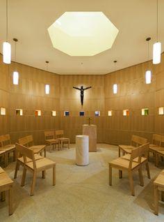 designing meditation room   Cline Bettridge Bernstein Lighting Design: St. Katharine Drexel Chapel