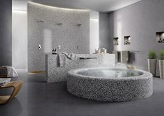 Bagni con piastrelle a mosaico n.18