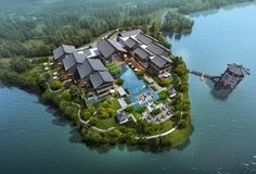 Tianmu Lake Ahn Luh Boutique Resort | Archilier Architecture I The world's top architectural design firm I Hotels, Resorts, Retail Centers, Office Complexes, Mixed-use Buildings